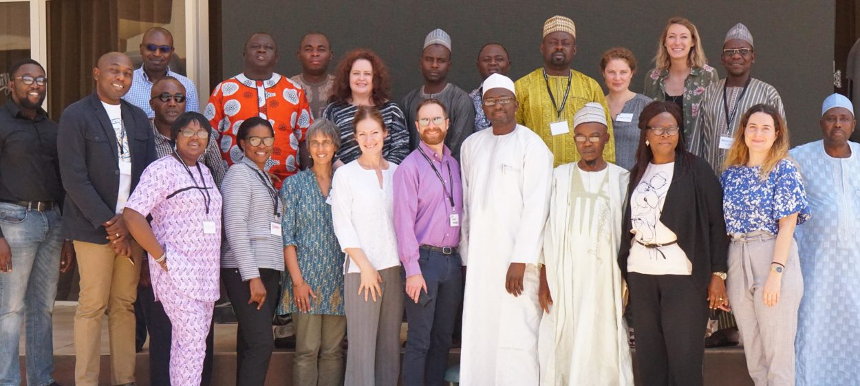 Participants at the data driven learning workshop 4 in Abuja in November 2017