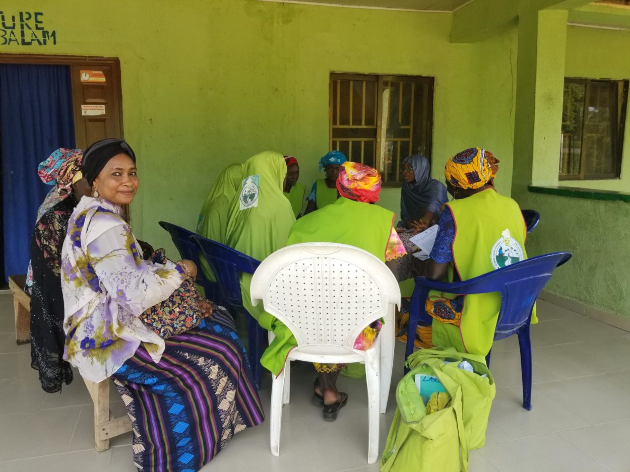 Village Health Workers during a focus group discussion